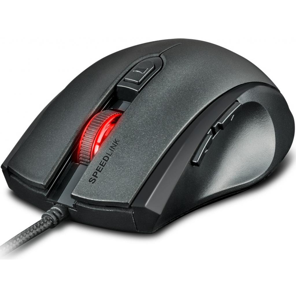 Фото товара: Мышка Speedlink ASSERO Gaming Mouse, black (SL-680007-BK)