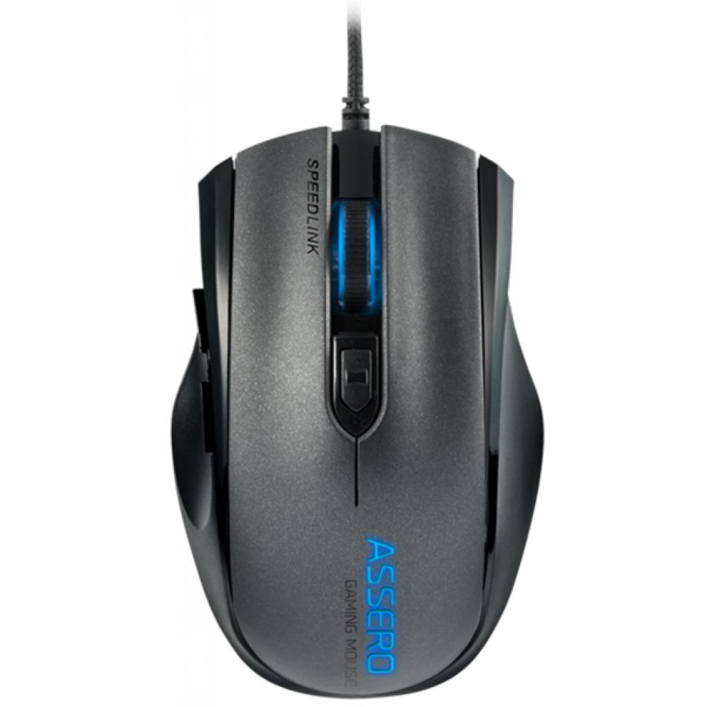 купить Мышка Speedlink ASSERO Gaming Mouse, black (SL-680007-BK)