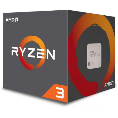 Фото товара: Процессор AMD Ryzen 3 1200 (YD1200BBAEMPK) AM4, 4 ядра, 3.10GHz, нет, L2: 4x512KB, L3: 8MB, 14nm, 65W, BOX, Zen
