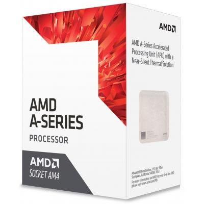 купить Процессор AMD A6-9500 (AD9500AGABBOX) AM4, 2 ядра, 3.50GHz, Radeon R5 series, L2: 1MB, 28nm, 65W, BOX, Excavator