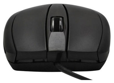 купить Мышь LogicFox LP-MS 009 full black color, USB