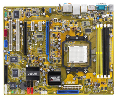 Фото товара: Мат. плата ASUS Socket AM2 M2R32-MVP