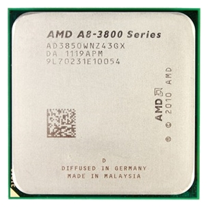 Фото товара: Процессор FM1 AMD A8-3870 BE, 4x3,0GHz, Box
