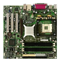 Фото товара: Мат. плата Intel D865GLCL La Crosse Intel 865, Support 800/533/400GHz, HT, Socket 478, dual DDR 400/333/266, 6C