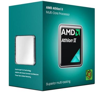 Фото товара: Процессор AM3 AMD Athlon II X3 455 box